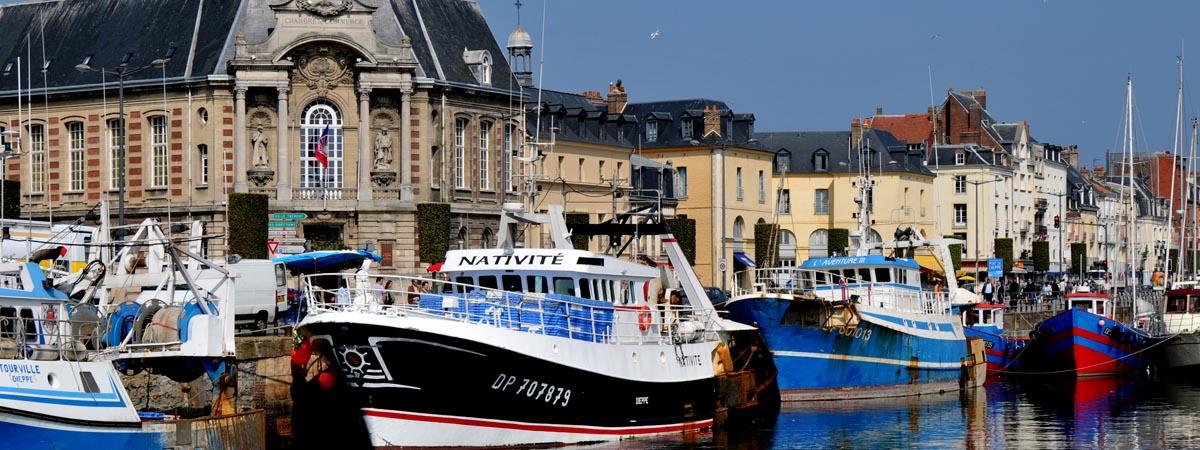 Le Port de Dieppe et la Chambre de Commerce