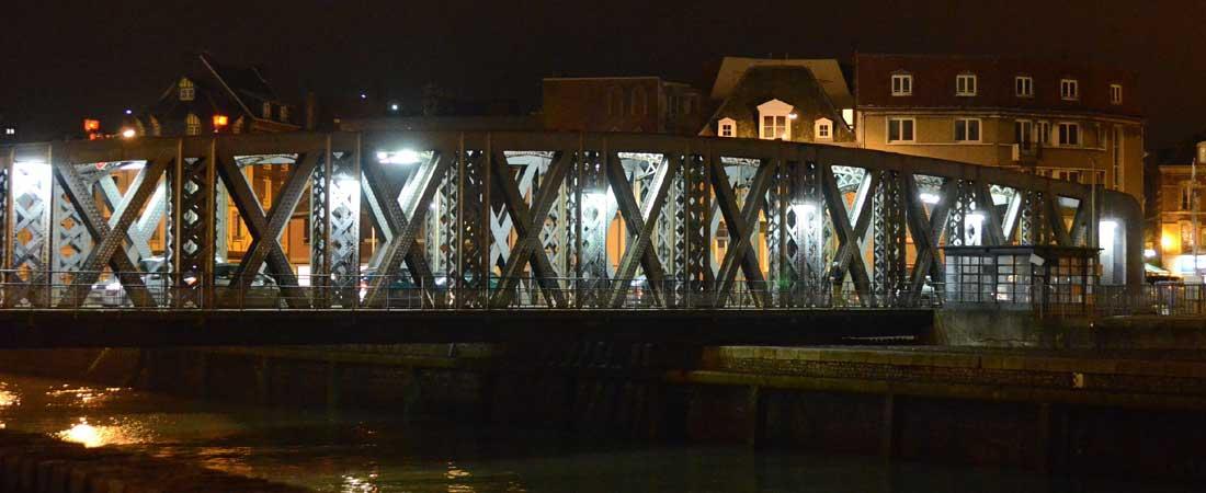 Le pont Colbert au Pollet