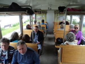 à bord du train à vapeur de la Baie de Somme (1)