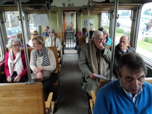 à bord du train à vapeur de la Baie de Somme (2)