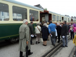 à bord du train à vapeur de la Baie de Somme (4)