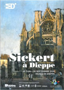 affiche expo Sickert