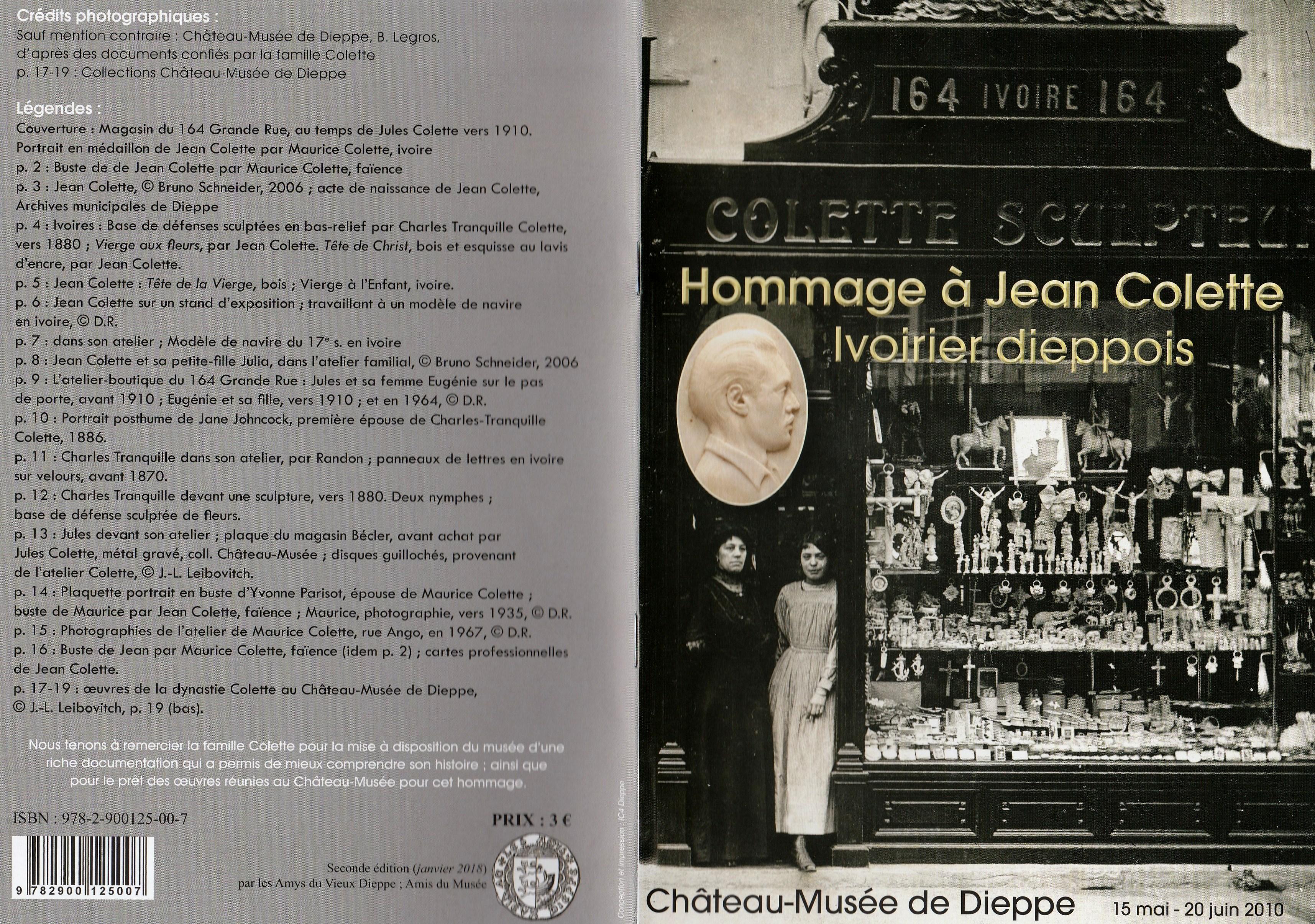 Hommage à Jean Colette, ivoirier dieppois