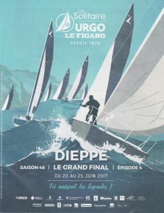 1) affiche de la Solitaire du Figaro
