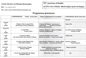 1)programme de l'AG de l'association CAEN (8-12juillet2017)