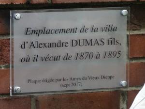 2)inauguration de la 1ère plaque sur Dumas (1)
