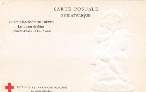 9) joueur de flûte (verso)