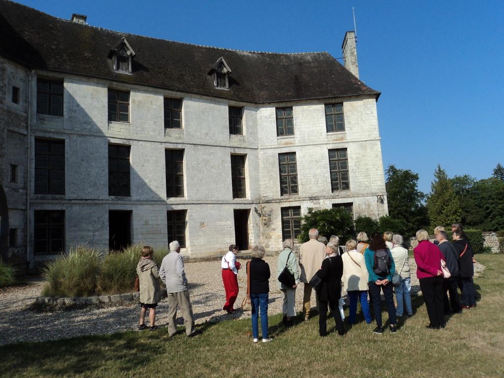 9)2è façade du même château
