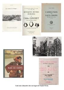 Liste ouvrages Claude Féron (C')