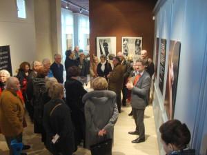 au Musée de Dieppe visite de l'exposition en cours par P Ickjowicz