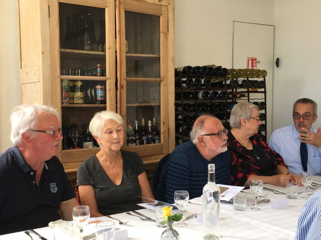 déjeuner à l'Auberge du Vieux Puits (6)