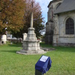 inauguration de la plaque Dumas près de l'église Saint-Aubin de Neuville-les-Dieppe (2)