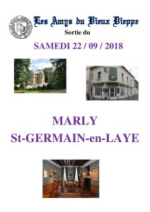 1 sortie Marly-St-Germain