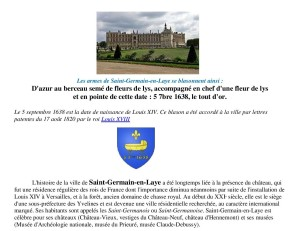 4 Saint Germain en Laye