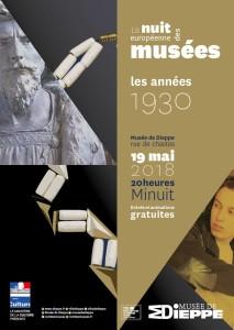 Affiche nuit des musées