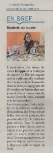Liberté Dimanche 27oct19