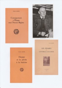 livres et portrait Roger Barré