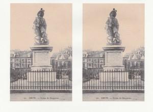 statue de Duquesne inaugurée le 22-09-1844