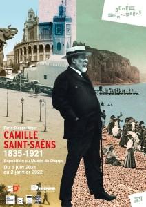 Affiche expo Saint Saëns