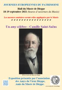 Affiche expo Saint-Saëns