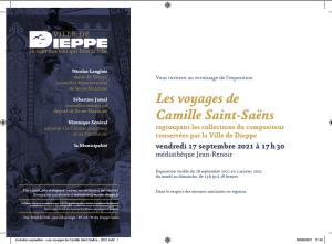 Saint-Saëns invitation